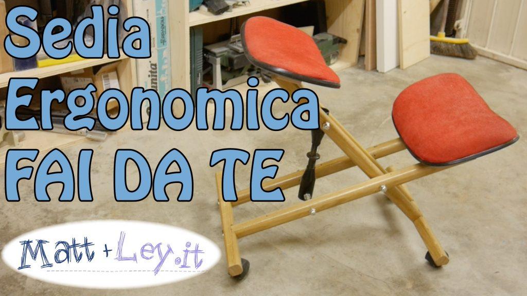 Come costruire una sedia ergonomica fai da te