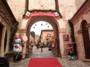 Castello di Gradara, ottima meta per evitare i mercatini di natale