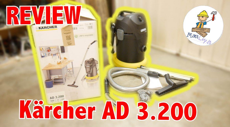 Recensione: Kärcher AD 3.200 – l'aspiratore che vi lascerà senza fiato