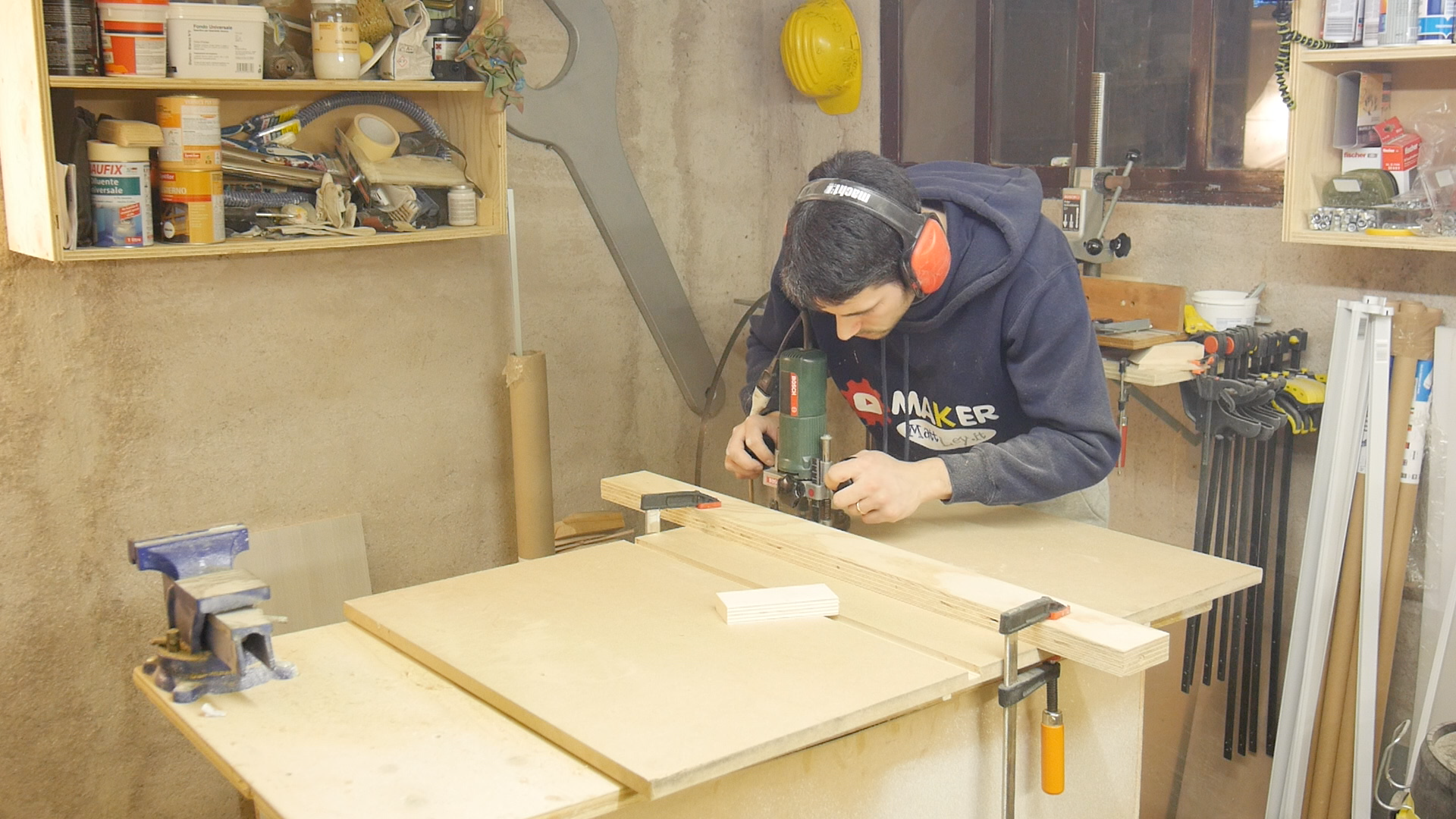 Come ho realizzato un banco da falegname in legno con meno ...