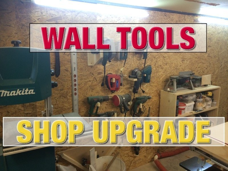 Wall power tools system