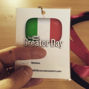 Youtube Creator day Bologna