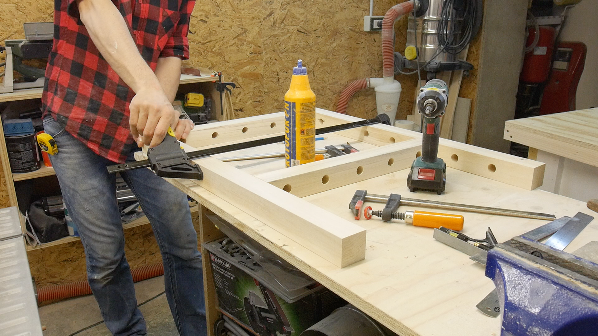 Ruote Per Tavolo Da Lavoro : Come realizzare un banco da lavoro pieghevole mattley.it
