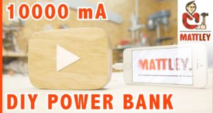 Come costruire un power bank da 10000 mAh fai da te