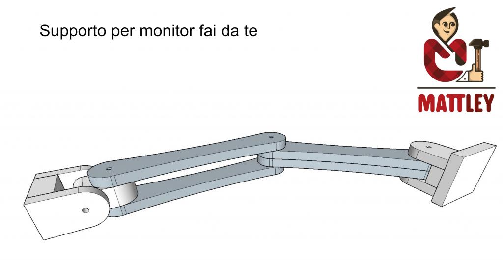 Supporto per monitor