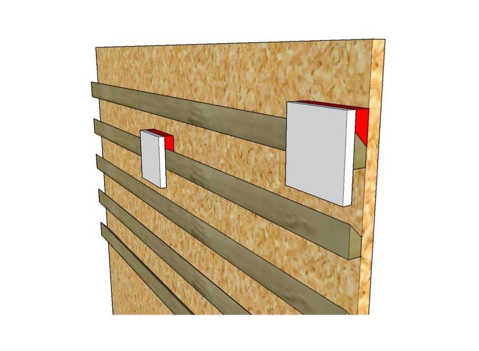 Come costruire una parete porta attrezzi fai da te - Parete in legno fai da te ...