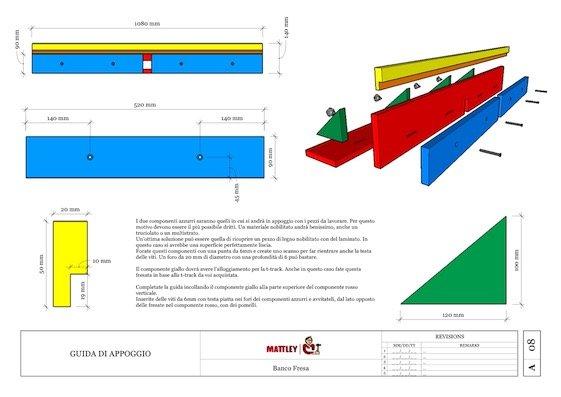 Banco fresa 09 for Banco fresa bosch