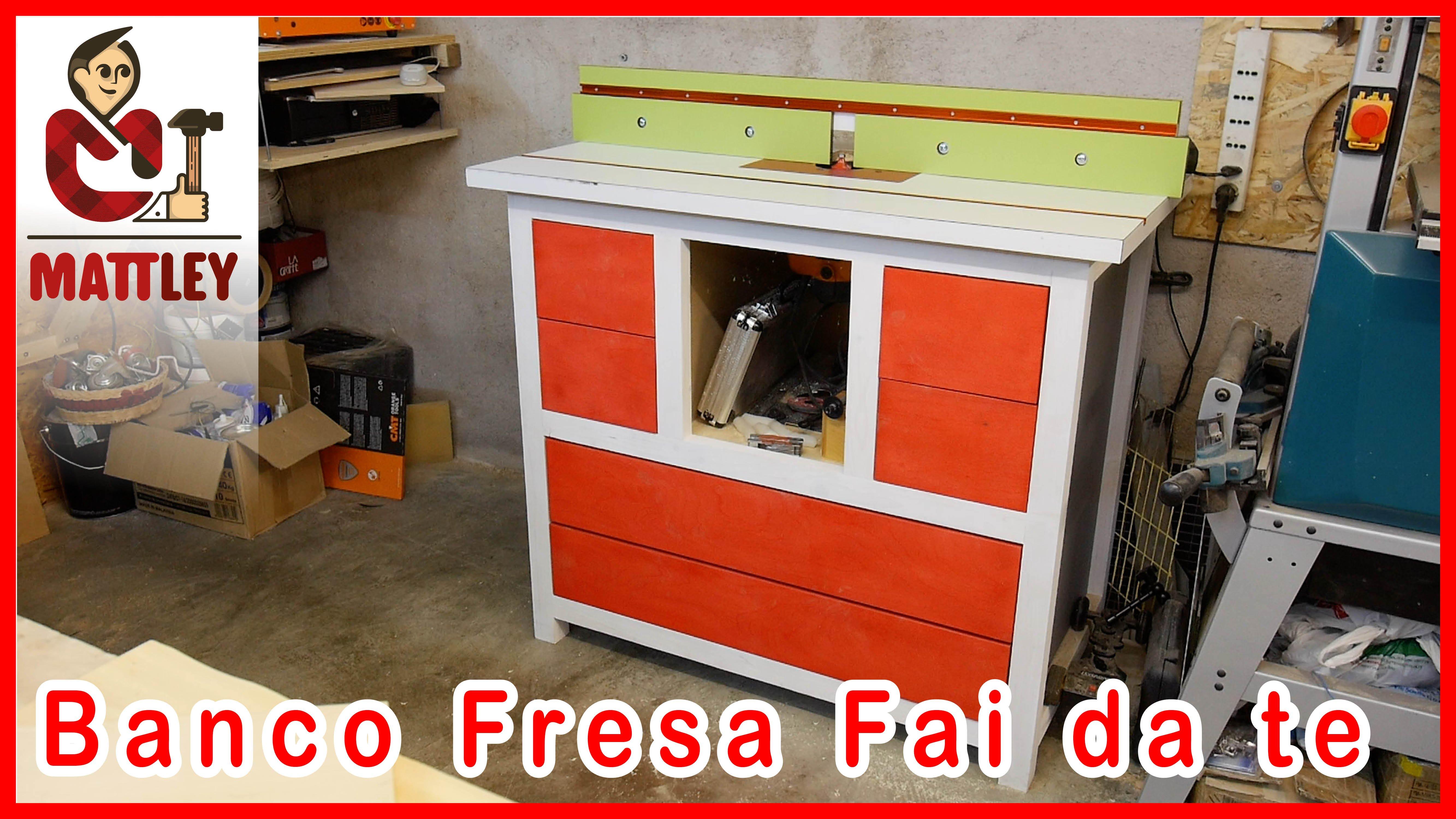 Banco fresa legno usato for Progetti fai da te legno pdf