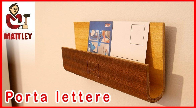 Porta lettere in legno fai da te – Idea regalo