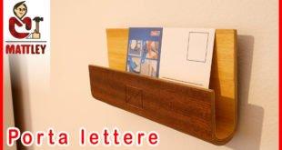 Porta lettere in legno fai da te