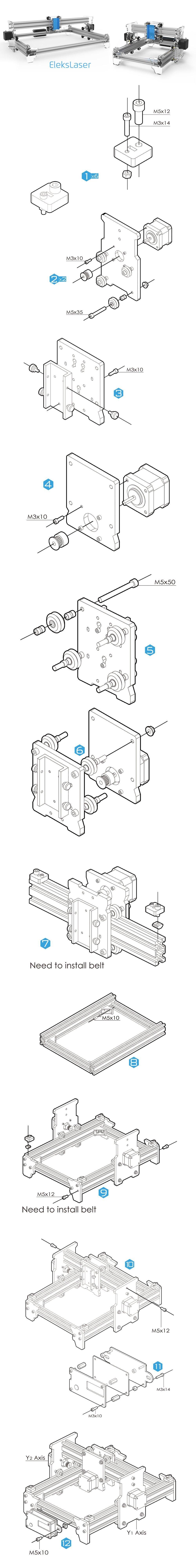 Istruzioni elekslaser A3