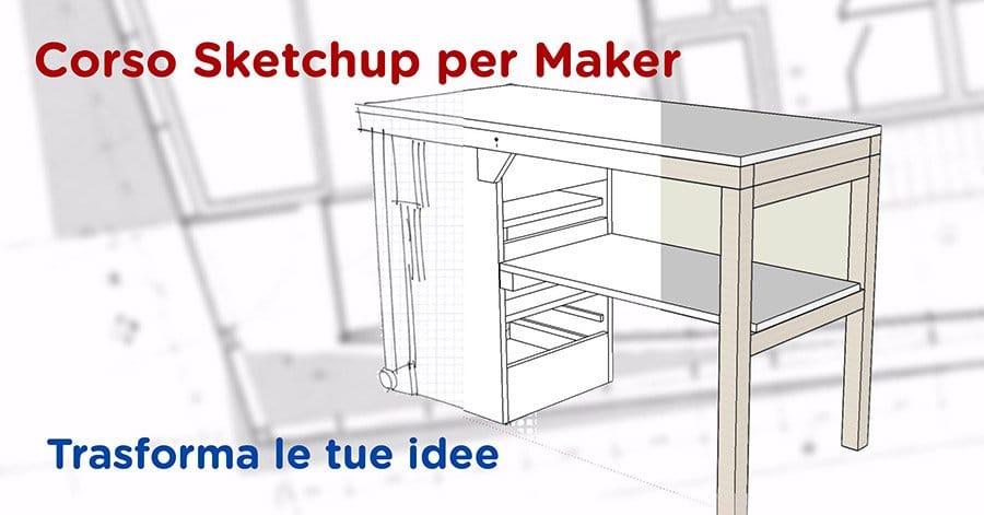 Utilizzare Sketchup per disegnare i propri progetti