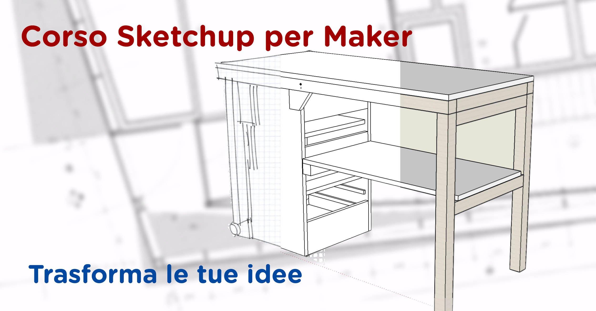 Utilizzare sketchup per progettare le proprie for Progettare le proprie planimetrie