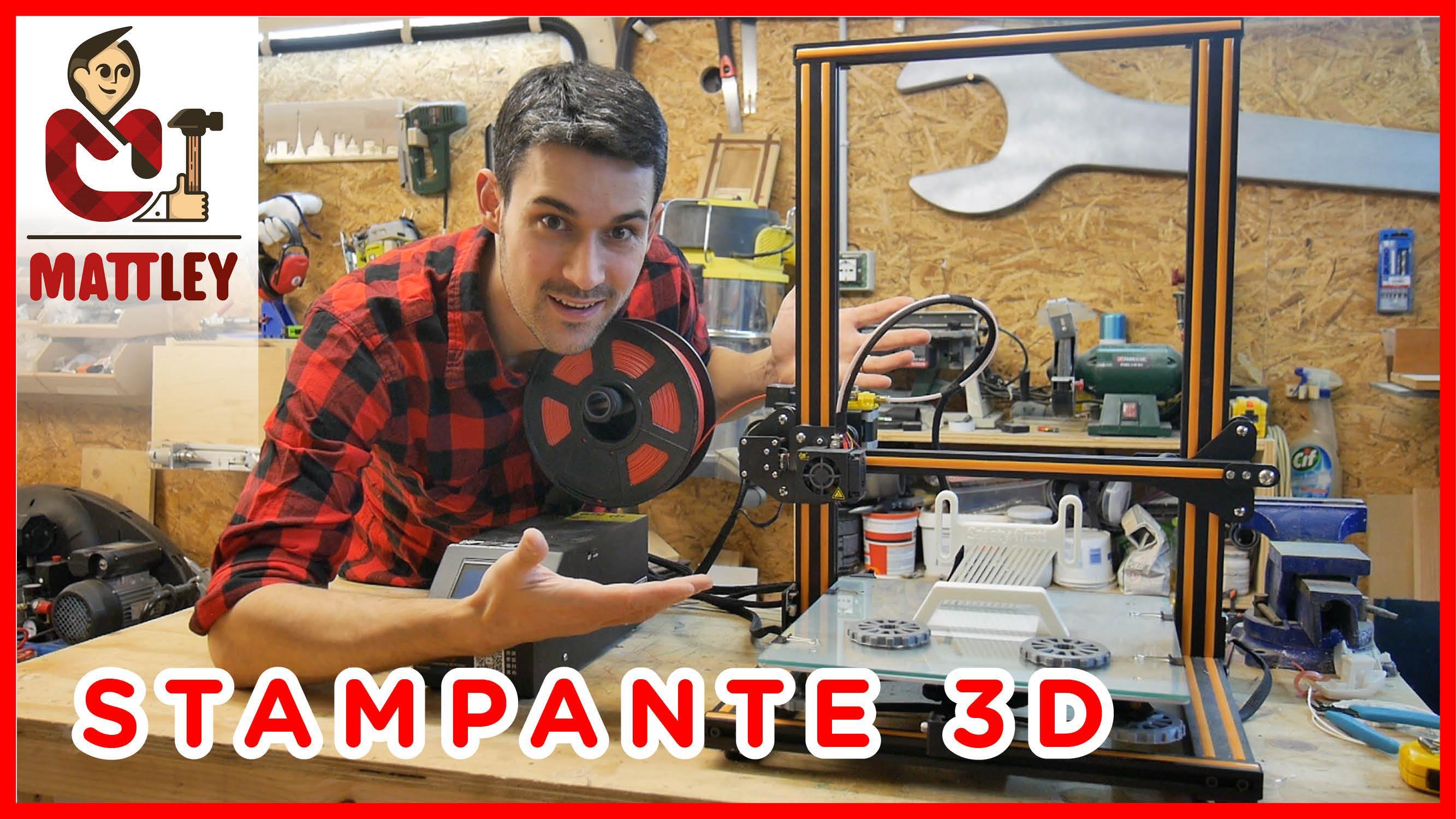[RECENSIONE] Creality cr-10S – La mia prima stampante 3D !