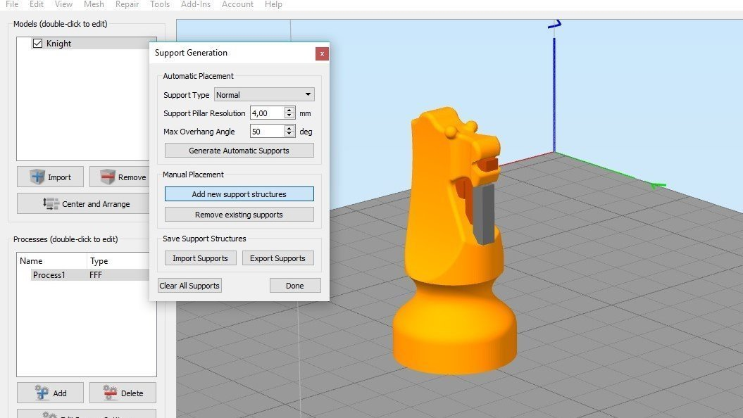 Milgior slicer per stampa 3D