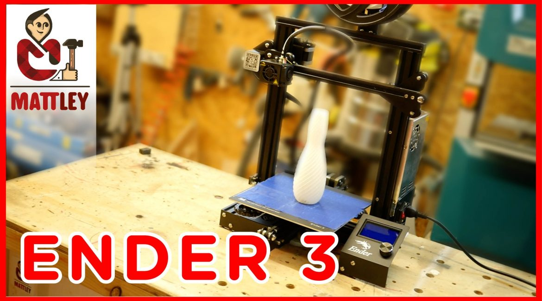 Creality Ender 3 – La miglior stampante 3D economica