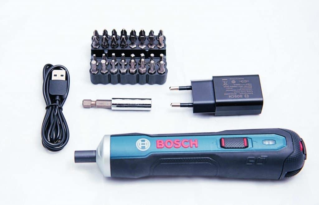 L'avvitatore a batteria Bosch Go