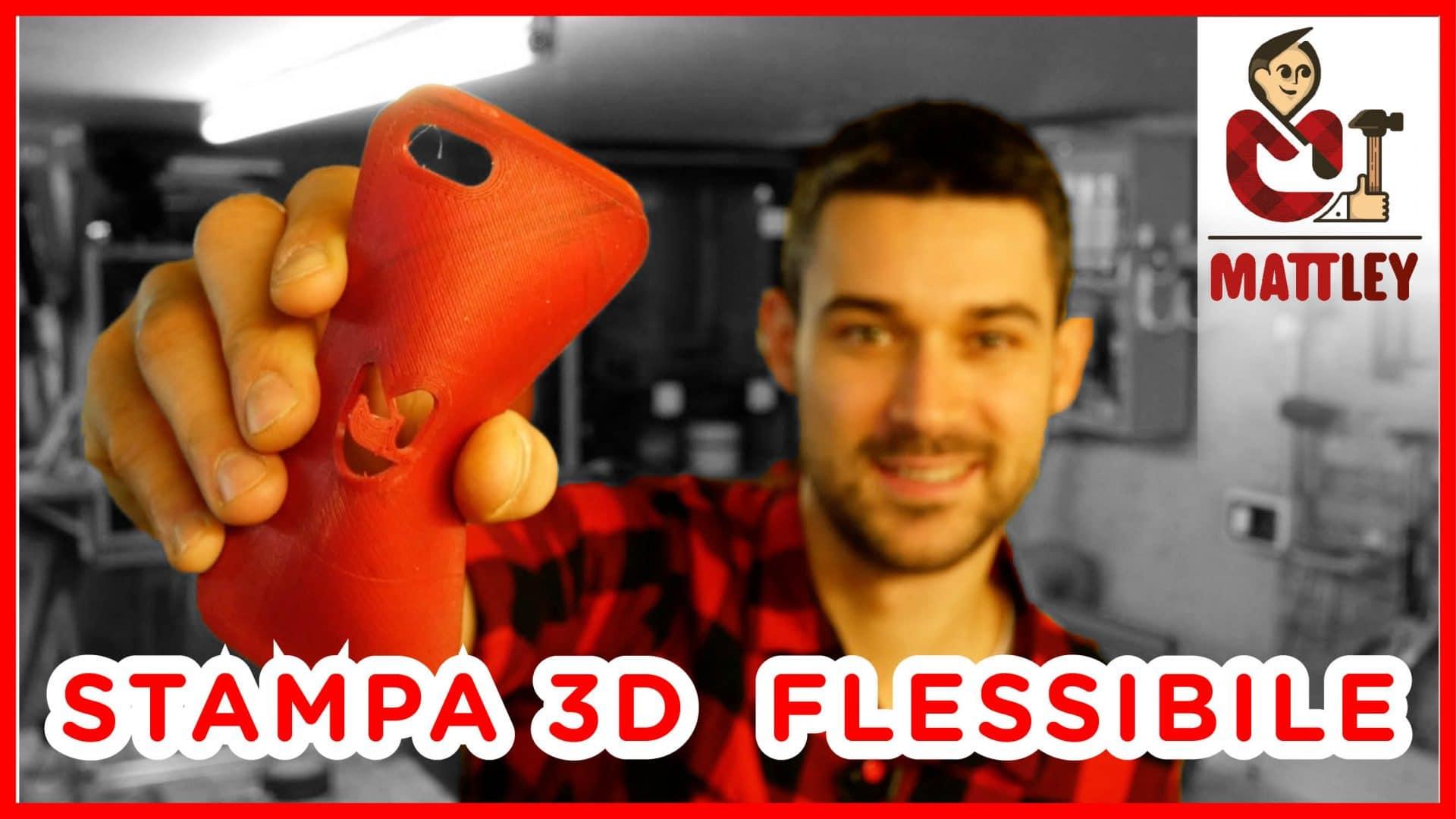 Oggetti flessibili con la stampante 3D