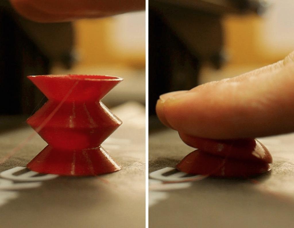 Stampante 3D e filamento flessibile