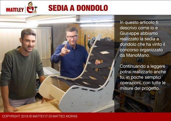 Progetto Sedia A Dondolo.Come Realizzare Una Sedia A Dondolo Fai Da Te Mattley It