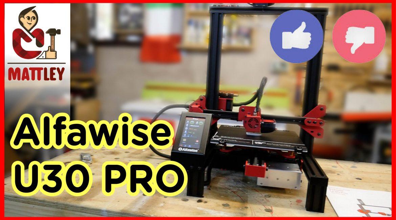 Stampante 3D Alfawise U30 PRO. La mia recensione