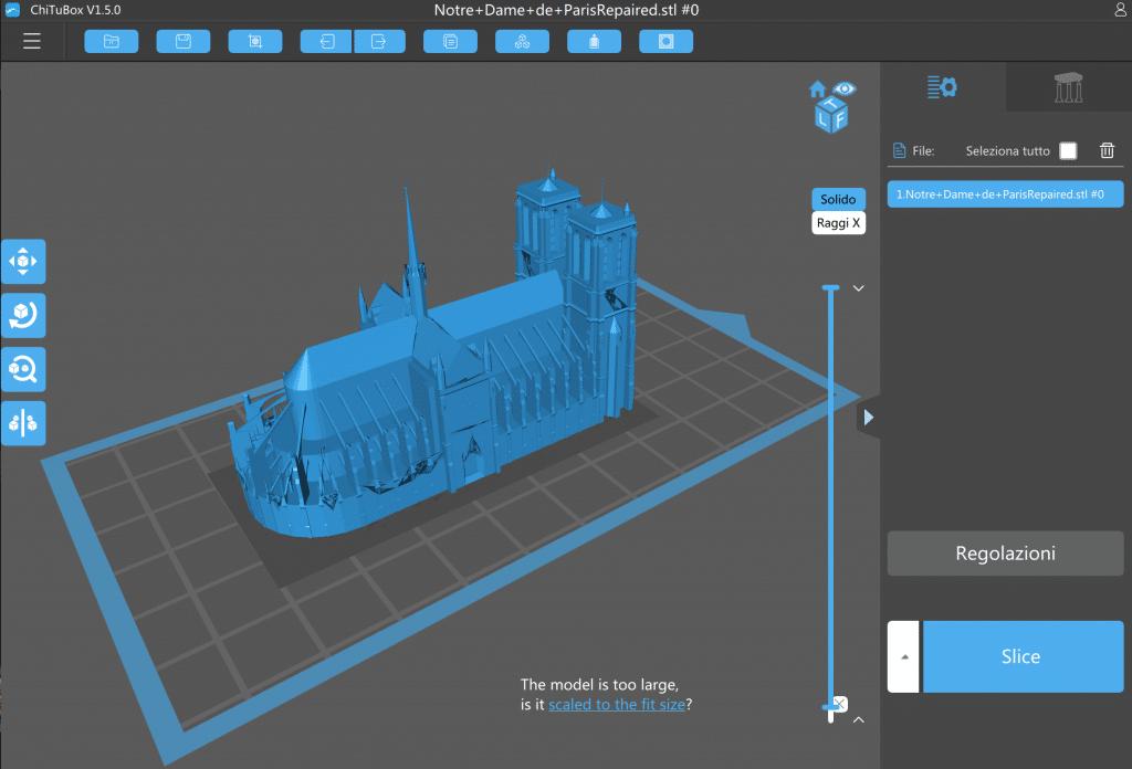 Chitubox stampa 3D resina