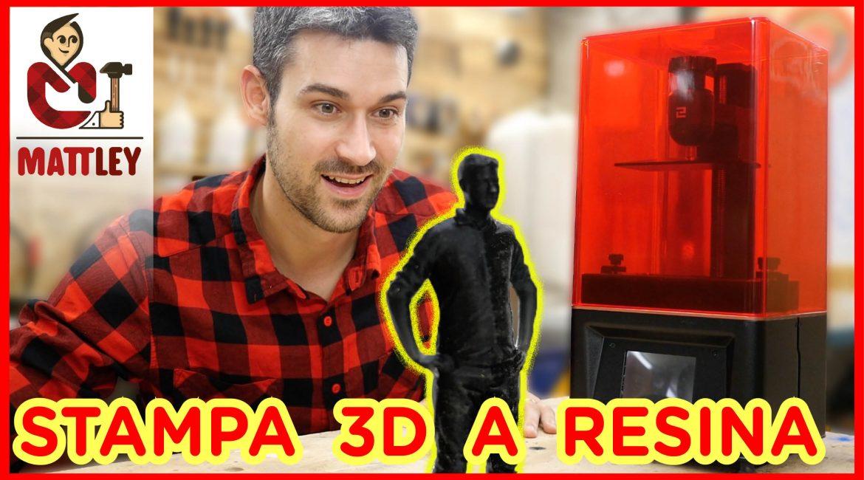 Stampante 3D a resina DLP. Scopriamola assieme