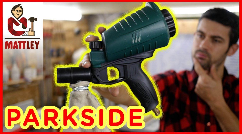 Recensione pistola sabbiatrice Parkside PDSP 1000 B2