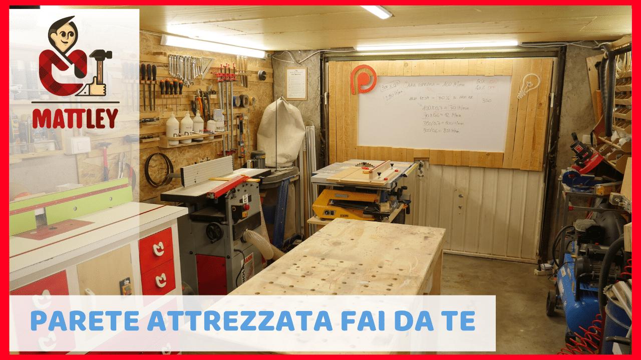Idee Garage Fai Da Te organizzare parete attrezzata in officina: regole e consigli
