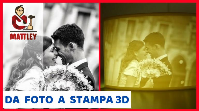 Come trasformare una foto o un disegno in stampa 3D