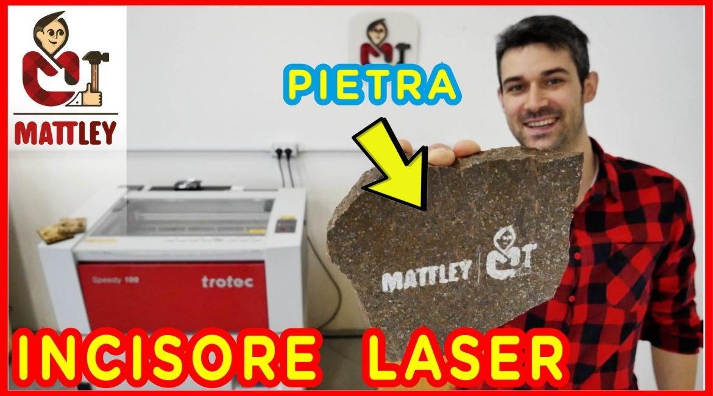 Taglio laser POTENTE ! Ecco la Trotec Speedy 100