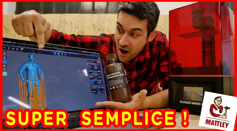 Elegoo Mars 2 PRO – La stampante 3D a resina velocissima