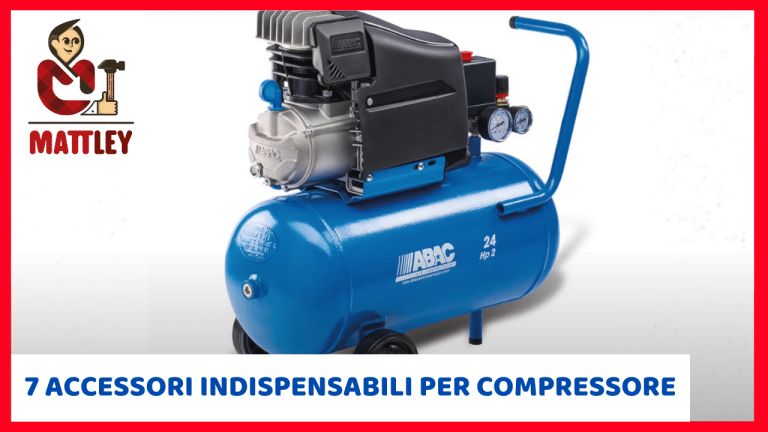 7 accessori indispensabili per compressore ad aria