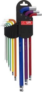 Set chiavi a brugola colorate