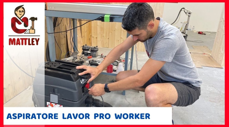 L'aspiratore ideale per un piccolo laboratorio – Lavor Pro worker